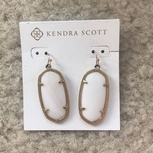 Kendra Scott Elle Earrings in White